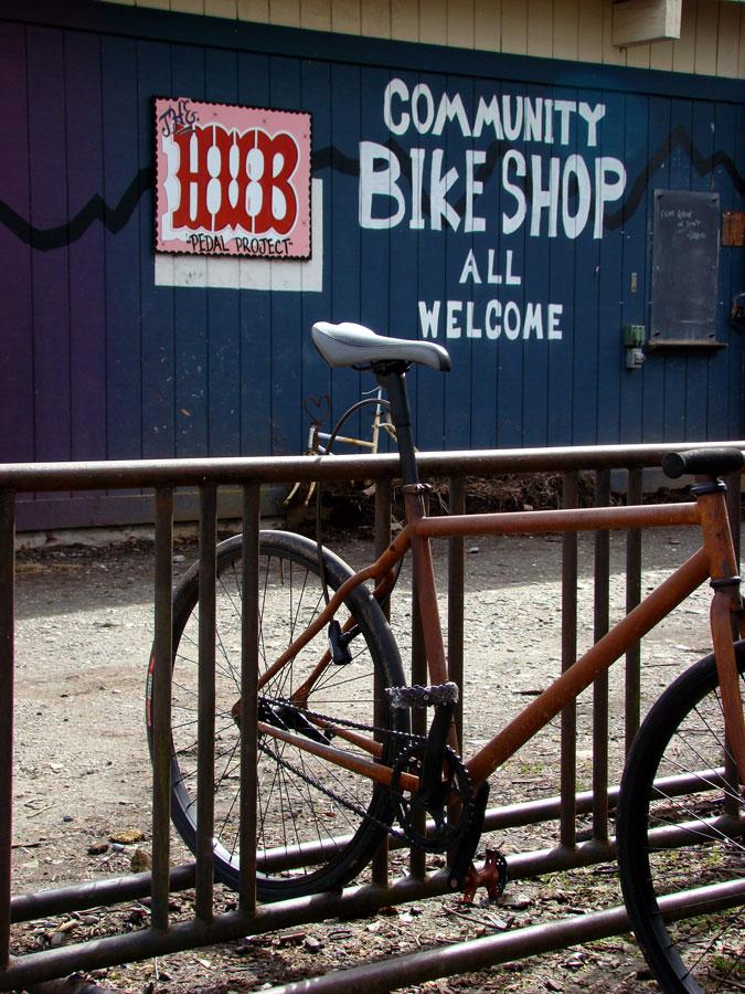 rusty bike beautiful lomo - photo #9