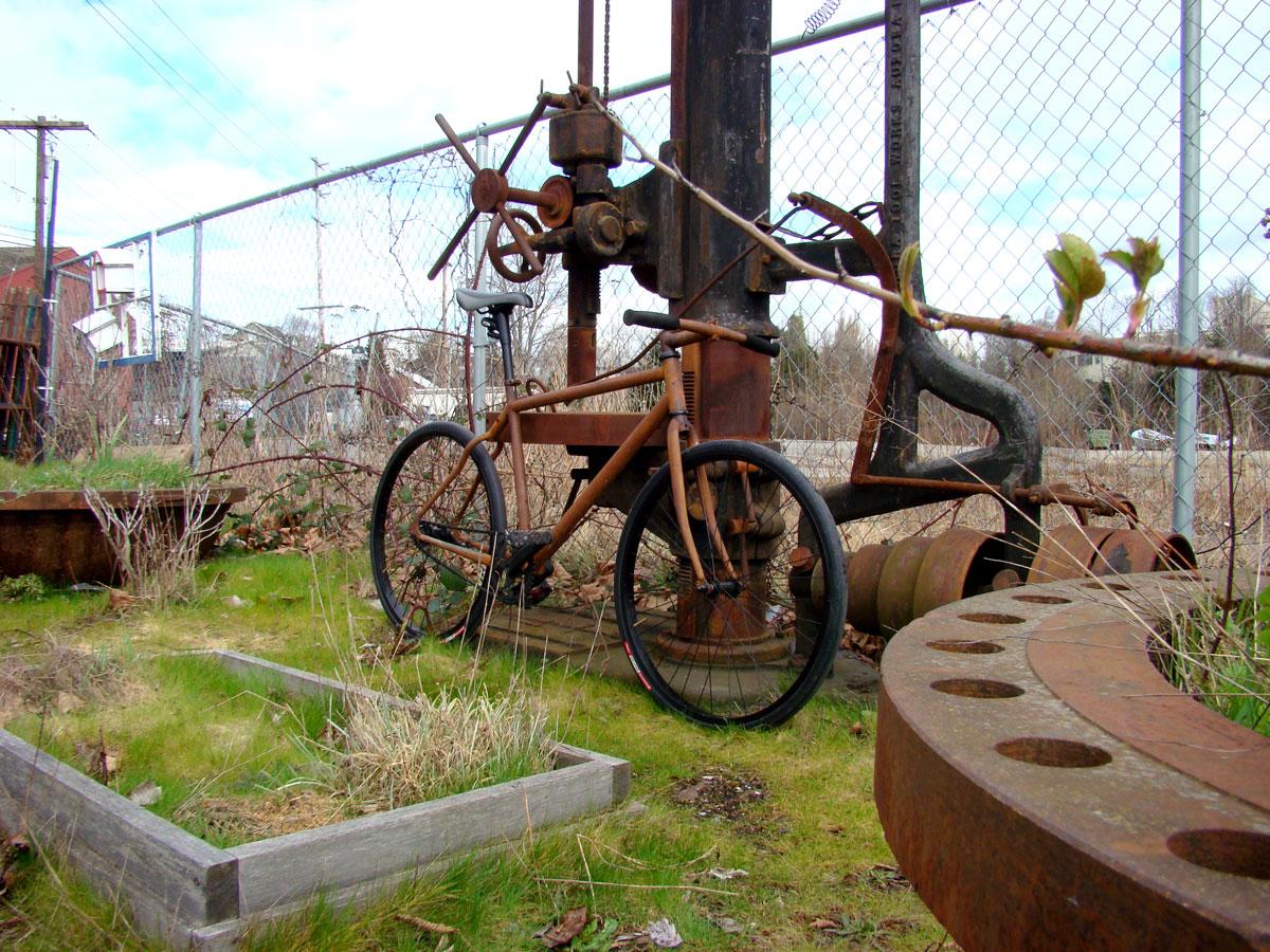 rusty bike beautiful lomo - photo #4